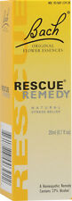 Bach Rescue Remedy drops 20ml (0.7 oz) Flower Essence for Natural Stress Relief