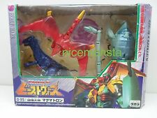 Transformers Japanese Beast Wars Neo Takara Japanese D-35 Magmatron Sealed 1999