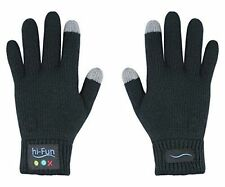 Genuine hi-Call Bluetooth Talking Glove da hi-Fun Piccolo / Medio Donna Nero