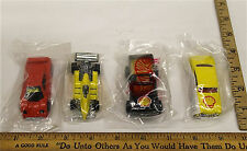 1991 Hot Wheels Shell 4 Sealed 1:64 Diecast Gas Station Promo Lot New In Package
