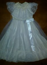 Stunning VINTAGE JCPenney Girls 5T Lace Dress! Wedding, photos... B19