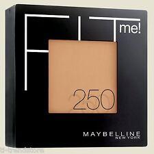 Maybelline Fit Me! Puder 250 Sun Beige  Make-Up Powder mit Spiegel Schwämmchen