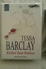 Richer Than Rubies by Tessa Barclay: Unabridged Cassette Audiobook (OO2)