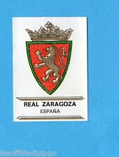 FOOTBALL CLUBS-PANINI 1975-Figurina n.108- REAL ZARAGOZA-SPAGNA -SCUDETTO-Rec