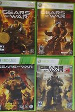 Gears of War Bundle - Four Game Lot (Xbox 360) ALL COMPLETE, GOOD - 2 3 Judgment