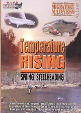 Temperature Rising  Spring Steelheading - Steelhead Great Lakes  Fly Fishing DVD