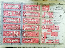 1955 MANHATTAN MURRAY HILL HELLS KITCHEN NYU MEDICAL CENTER NY BROMLEY ATLAS MAP