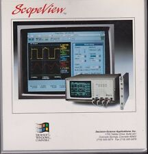 Scope View User's Manual Scopeview use with HP VXI 54500 Series Digitizing Scope