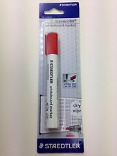 Staedtler Lumocolor White Board Marker RED 351-2 BKDA