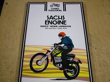 WORKSHOP MANUAL FOR SACHS ENGINES, 100 - 125 cc  1968 - 1974