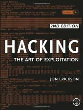 Hacking: The Art of Exploitation, 2nd Edition by Jon Erickson [Paperback] NEW