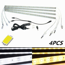 4 x 50CM SMD 5630 36 LED Waterproof Rigid Strip Light Bar Strip Lamp DC12V