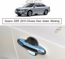 SAFE Chrome Door Catch Under Molding 4Pcs For HYUNDAI NF Sonata 2005 2010