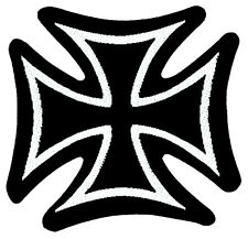 IRON CROSS-Patch ricamate-croce di ferro circa 8x8cm