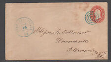 **CSA Cover, SC# U27 Charlottesville, VA, 5/12/1861, Conf State Usage