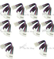 10PC x 4pin 10mm PCB Board Wire Connector Adapter for 5050 LED SMD RGB Strip