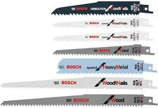 Bosch Carbon Bi Metal Reciprocating Saw Blade Set Designed Durability Efficiency