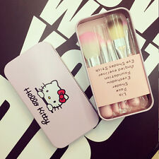 Kawaii Hello Kitty Pink Make Up Brushes Fashion Girls Gift Cute Anime Collection