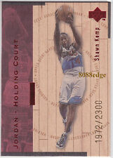 1998 UPPER DECK HARDCOURT HOLDING COURT #J5: MICHAEL JORDAN/SHAWN KEMP #/2300