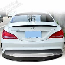 PAINTED COLOR forMercedes BENZ W117 C117 CLA 4D AMG TYPE ABS REAR TRUNK SPOILER