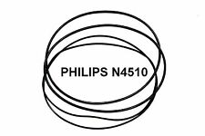 COURROIES SET PHILIPS N4510 MAGNETOPHONE A BANDE EXTRA FORT NEUF FABRIQUE N 4510