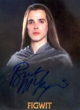 LORD OF THE RINGS TRILOGY CHROME BRET MCKENZIE AUTO