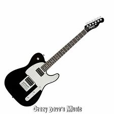 Fender Squier J5 Telecaster Black Electric Guitar John 5 Tele