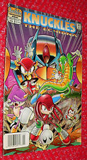Knuckles  The Echidna  #8 comic 1998 Archie        USED reading copy