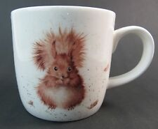 "Royal Worcester Squirrel Mug ""Treetops Redhead""  Fine Bone China Wrendale Boxed"