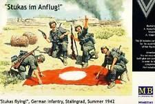 Masterbox German Infantry Stukas fly Deutsche Infanterie Stalingrad 1:35 Bausatz