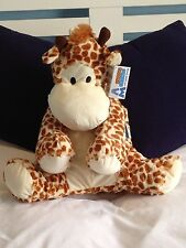 3D HOT WATER BOTTLE CUTE CUDDLY NOVELTY GIRAFFE LARGE 45CM