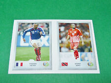 N°118 THIERRY HENRY 34 STERN JOHN PANINI FOOTBALL GERMANY 2006 MINI-STICKERS