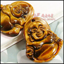 Tibetan jewelry Tiger's eye stone carved buddha beads statue pendat for necklace