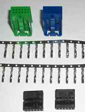 Most Quadlock Stecker Set 2x 12 polig FAKRA MQS CAN BUS Buchsen Kontakte VW AUDI