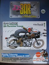 FASCICULE SERIE 2 JOE BAR TEAM 68 VELOCETTE 500 THRUXTON 1968 / KTM RC 390