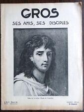 Peinture 19e XIXe Antoine-Jean Gros - ses amis, ses disciples - L'Art Sacré