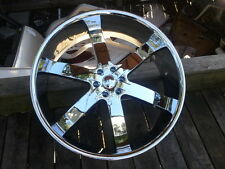 "26"" Inch CHROME U2 55 Rims Wheels 20 24 28 30"