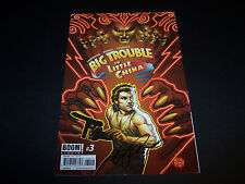 SIGNED ERIC POWELL BIG TROUBLE IN LITTLE CHINA #3 JACK BURTON REGULAR COVER 1PR