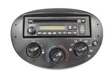 03 FORD ESCORT RADIO SINGLE CD PLAYER UNIT AM FM CLIMATE CONTROL 3S4K-18C838-AA