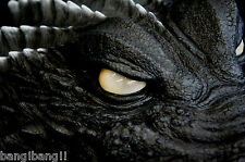 Godzilla GMK Statue 1/1 Studio Scale Head Bust  Toho Image Version 2001