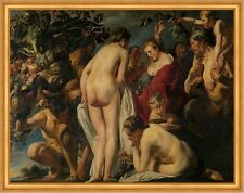 Allegory of pusode Jacob Jordaens gente desnuda frutos frutas B a1 02328