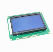 5V 12864 LCD Display Module 128x64 Dots Graphic Matrix LCD Blue Backlight NEW