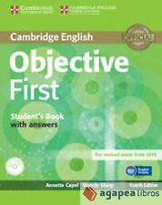 Objective First. Student's Book with answers with CD-ROM. LIBRO NUEVO
