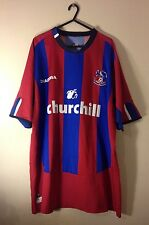 Crystal PALACE FOOTBALL CLUB Home Camicia 2004-05 Diadora Taglia Adulto Grande