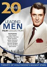 20 MOVIES: LEADING MEN~20 GREAT MOVIE HITS ON 4 DVD's~NEW SEALED SET