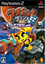 Used PS2 Ratchet & Clank: Size Matters   Japan Import (Free Shipping)