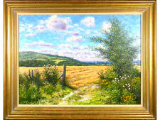 Mervyn Goode - 'Fresh Summer Day, The Downs' - Oil on Canvas, Landscape