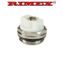 "MANUAL RADIATOR AIR VENT BLEED PLUG VALVE ,  1/2""  BSP"