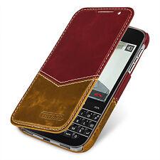 TETDED Premium Leather Case for Blackberry Classic Q20 Dijon II  (Venus: B Red)