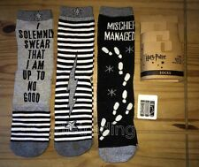 Primark Ladies HARRY POTTER HOGWARTS Socks 3 pack UK 4-8 EU 37-42